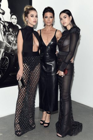 Lisa Rinna attends Art and Commerce: The Exhibition
