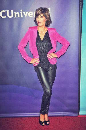 Lisa Rinna attends NBCUniversal's 2013 Winter TCA Tour