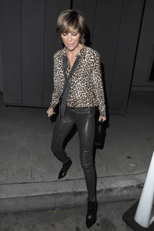 Lisa Rinna dinner at Craigs in West Hollywood