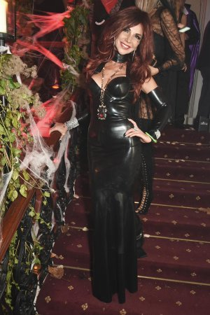 Lisa Tchenguiz attends Halloween at Annabel's at 46 Berkeley Square