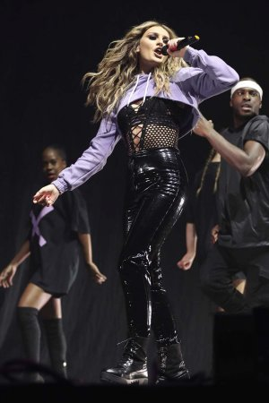 Little Mix performs at Free Radio Live