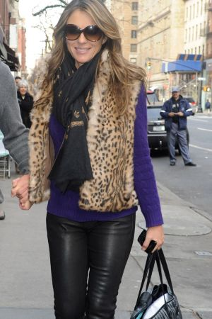 Liz Hurley and Shane Ward Head for lunch in NY