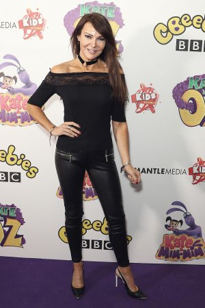 Lizzie Cundy arrives at Kate & Mim-Mim: Kate in Oz UK Premiere