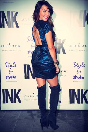 Lizzie Cundy at A Night With Nick annual fundraiser