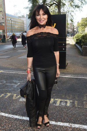 Lizzie Cundy at ITV Studio headquarters