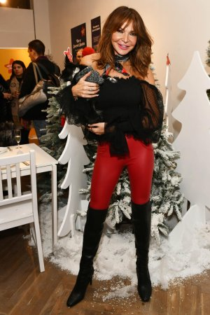 Lizzie Cundy attends Action for Children Secret Santa Pop-Up Store