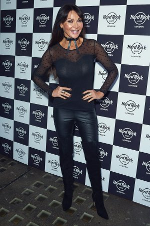 Lizzie Cundy attends Fight for Life Charity Christmas Party