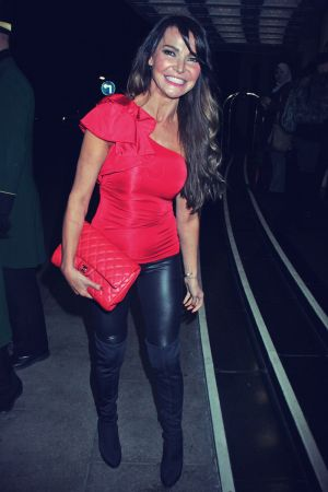 Lizzie Cundy attends Hardlyeverwornit Party