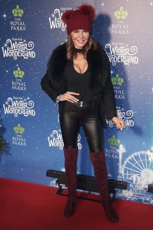 Lizzie Cundy attends Hyde Park Winter Wonderland VIP Launch