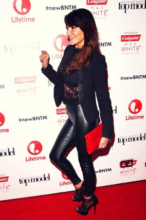 Lizzie Cundy attends Lifetime Launch of Britain's Next Top Model London
