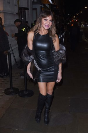 Lizzie Cundy attends Opening Of Reign Club Lounge