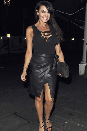 Lizzie Cundy attends Opiah Cosmetics launch party