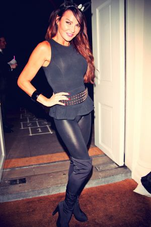 Lizzie Cundy attends Sketch Halloween party