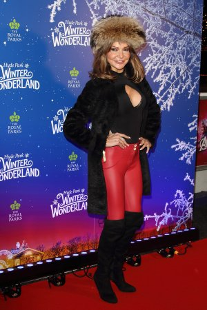 Lizzie Cundy attends the Winter Wonderland VIP launch night