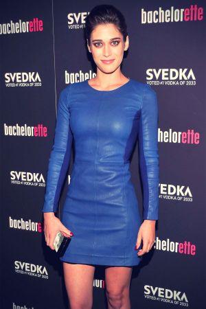 Lizzy Caplan at Bachelorette premiere