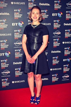 Lizzy Yarnold attends BT Sport Industry Awards