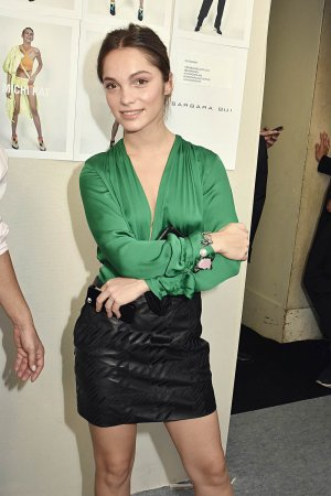 Lola Le Lann attends the Barbara Bui show