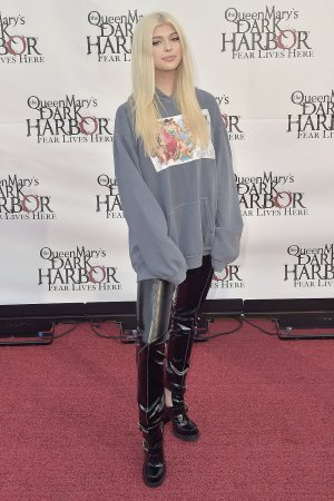 Loren Gray attends The Queen Mary's Dark Harbor Media & VIP Night