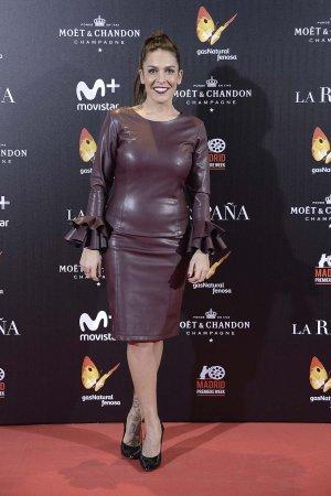 Lorena Castell attends La Reina de Espana premiere