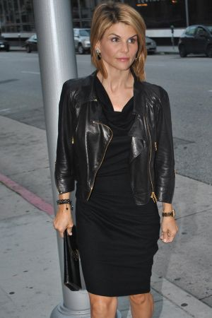 Lori Loughlin at Mr. Chow