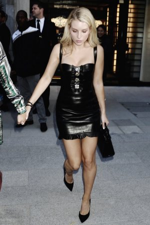 Lottie Moss attends Azzedine Alaia flagship store launch party