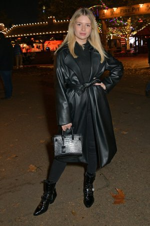 Lottie Moss attends The launch of Hyde Park Winter Wonderland