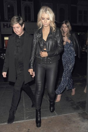Lottie Moss seen at Ours Restaurant