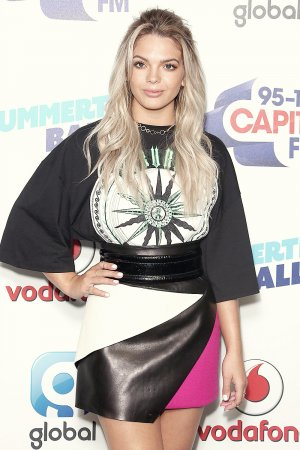Louisa Johnson at Capital radio Summertime Ball 2017