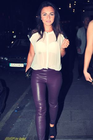 Louisa Lytton London candids 18th Aug 2012
