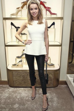 Louisa Warwick attends Jimmy Choo x DKMS Charity Cocktail Party