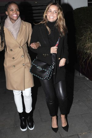 Louise Redknapp seen in London