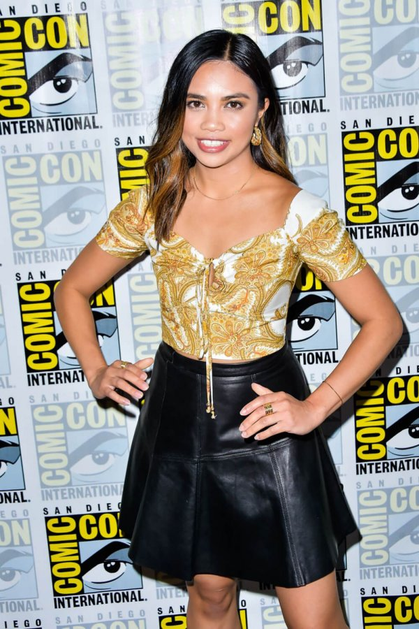 Louriza Tronco attends The Order Photocall at Comic-con