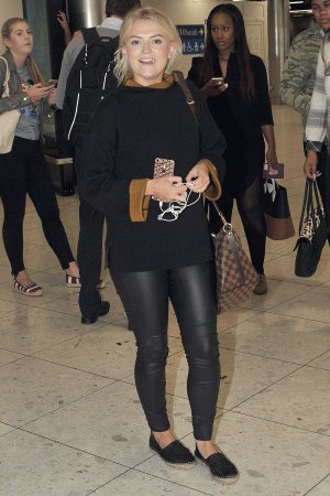 Lucy Fallon at Dublin Airport