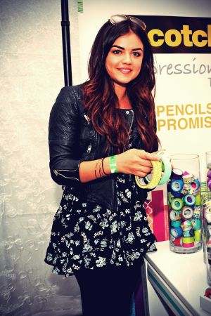 Lucy Hale Backstage Creations Celebrity Retreat