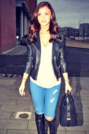 Lucy Mecklenburgh at Echo Arena Liverpool