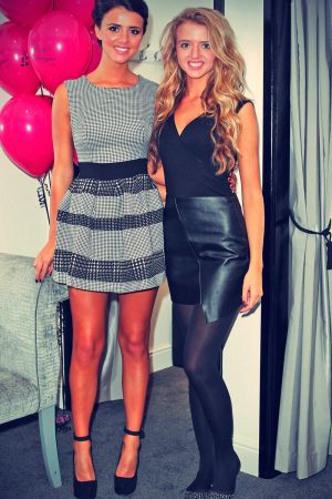 Lucy Mecklenburgh attends Lucy's Boutique opening