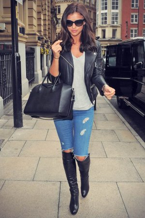 Lucy Mecklenburgh Manchester candids