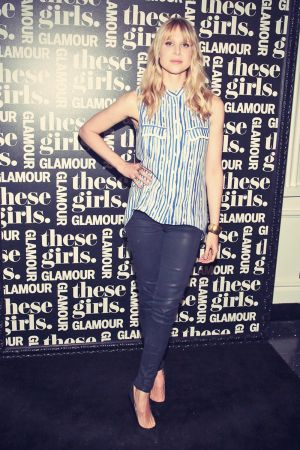 Lucy Punch attends Glamour's presentation of These Girls