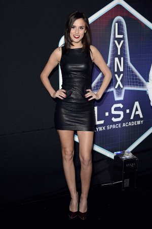 Lucy Watson attends the Lynx L.S.A launch event
