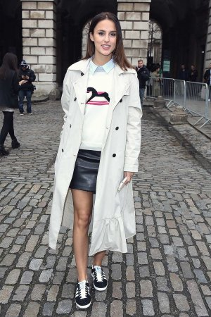 Lucy Watson seen arriving at Somerset House