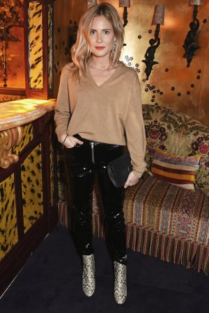 Lucy Williams attends the Edie Campbell and Kurt Geiger Flash dinner