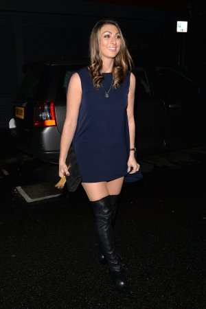 Luisa Zissman attends Now Christmas party