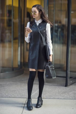 Luma Grothe attends the 2016 Victoria's Secret Fashion Show