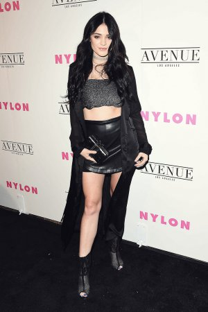 Luna Blaise at the NYLON Young Hollywood Party