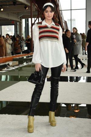 Luna Blaise attends Longchamp show