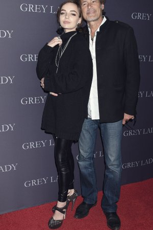 Lyda Loudon attends 'Grey Lady' film premiere