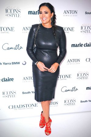 Lydia Schiavello attends the 'Icons of Style' breakfast
