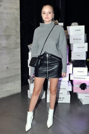Maddi Bragg attends Forever 21 CelebrateForever Winter Wonderland Event