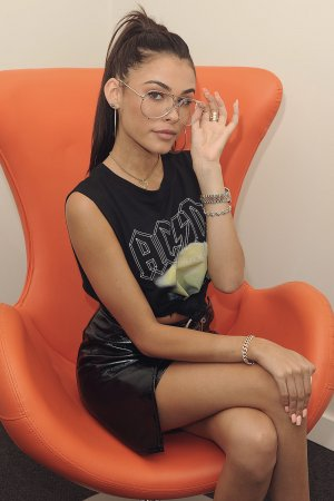 Madison Beer visits Hits 97.3