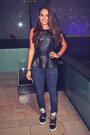 Madison Pettis attends Project CANVAS and PASTRY Fashion Show